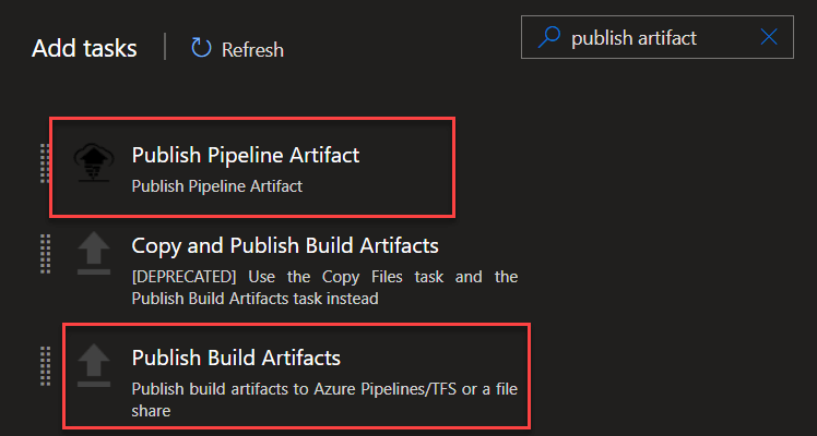 The War between the new Pipeline Artifacts and Build Artifacts