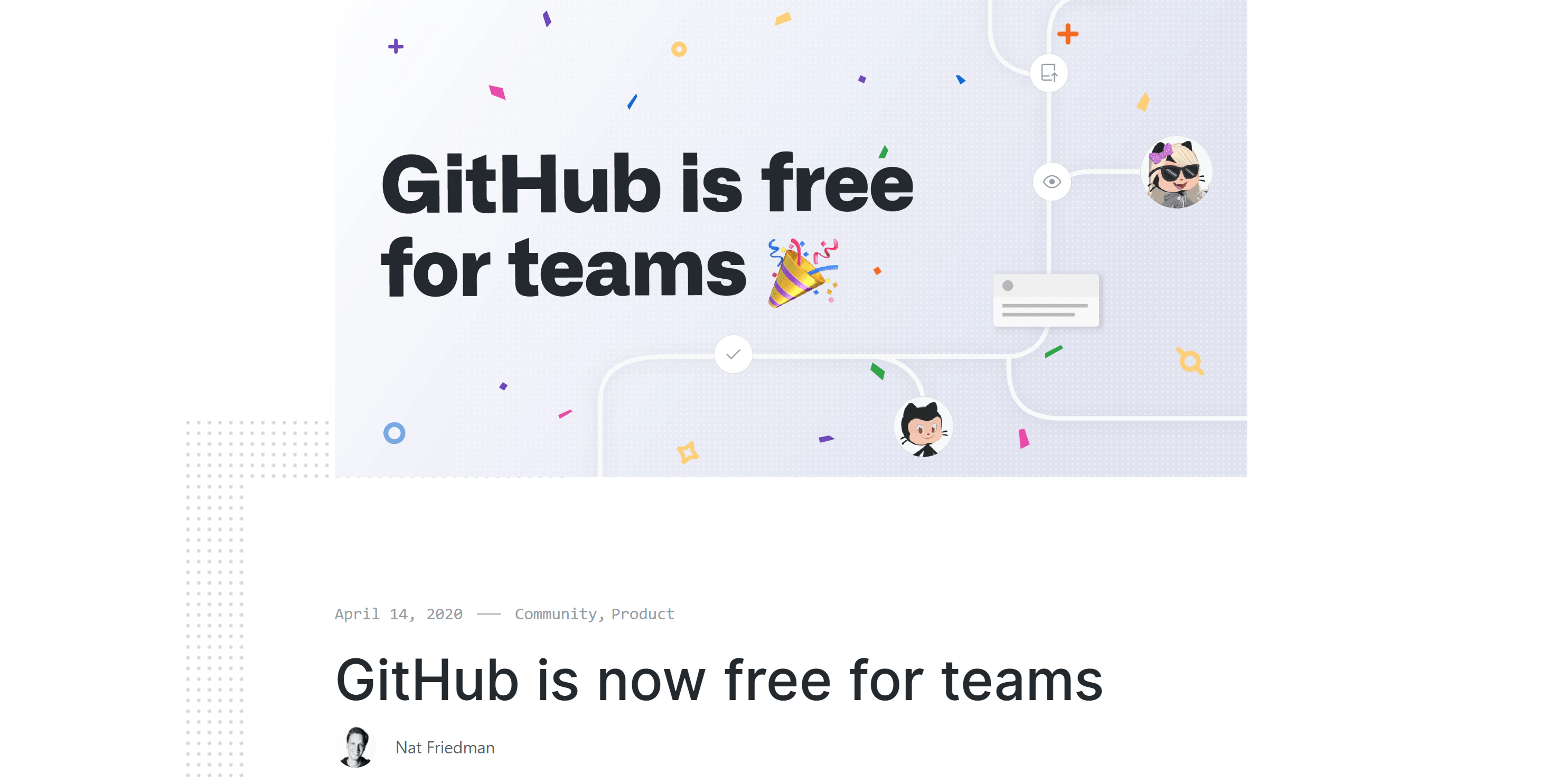 Why GitHub's new Announcement should be no surprise